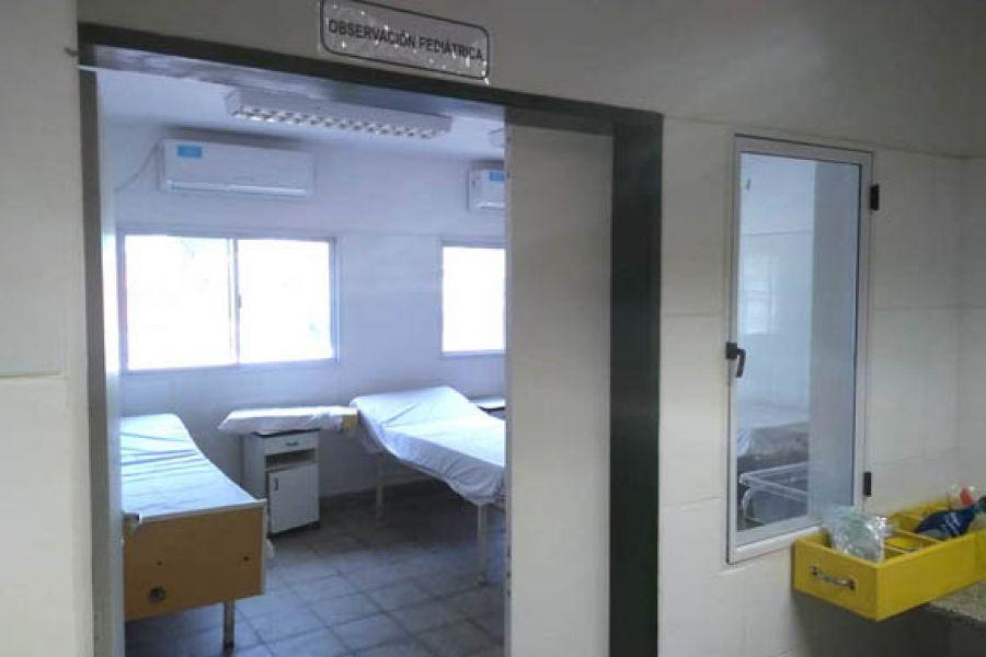 La obra de ampliación del hospital de El Pichanal estaría finalizada en los próximos meses.