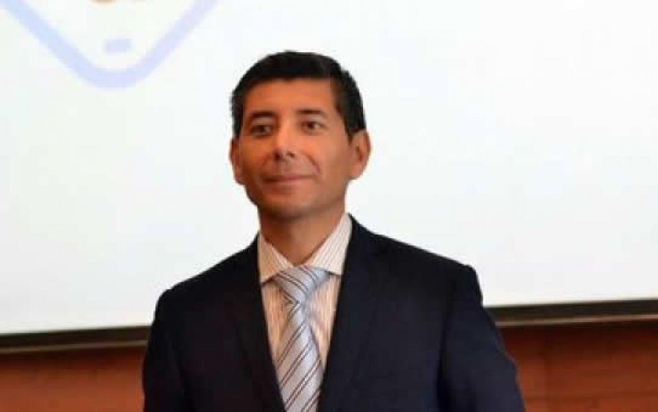 Pedro Burgos, presidente del Colegio de Abogados y Procuradores de Salta.