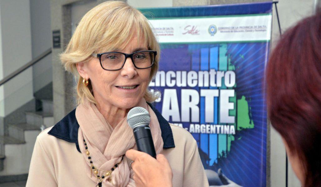 Sandra Píccolo, secretaria de Gestión Educativa.
