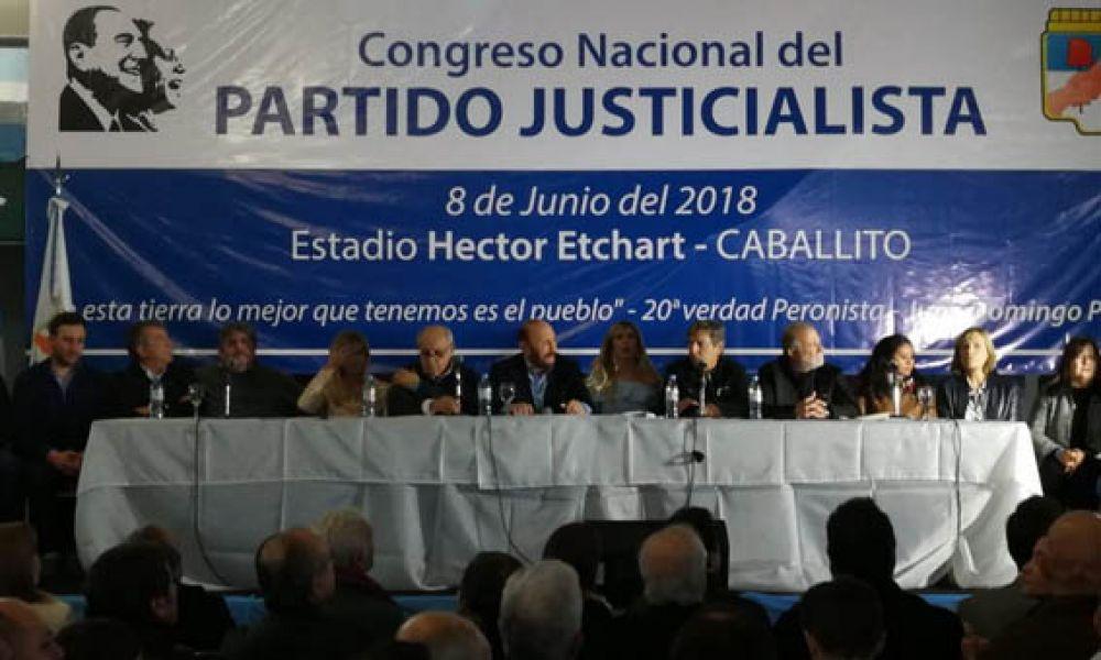 Gildo Insfrán preside, hoy jueves, el Congreso Nacional del PJ.