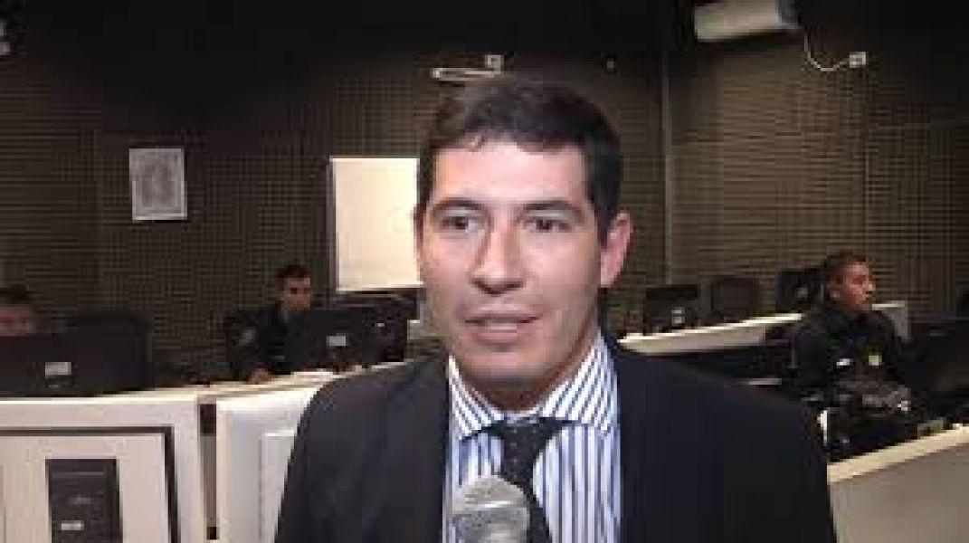 El ministro de Seguridad, Carlos Oliver.