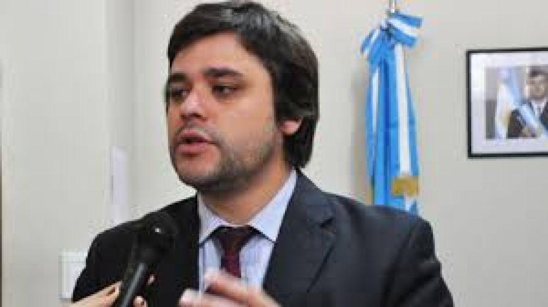 Santiago Godoy, secretario de Gobierno.