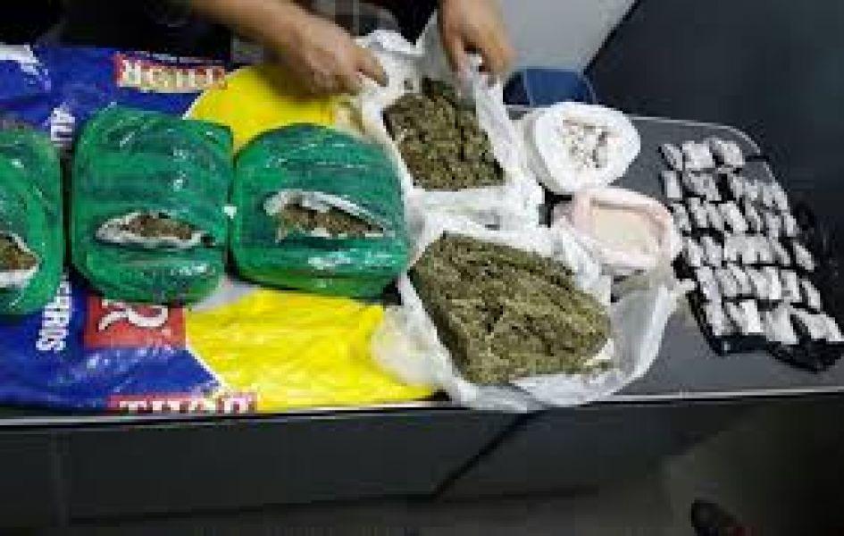 Durante el operativo lograron el decomiso de 150 dosis de cocaína y de marihuana, la joven de 18 años estaba siendo investigada.(imagen ilustrativa)